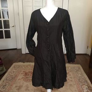 Eileen Fisher silk jacket/ topper